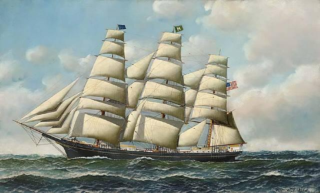 American Tea Clipper Ship