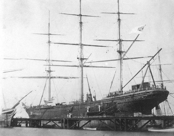 Confederate Sailing Ship Shenandoah