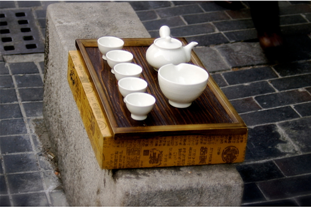 Tea Set in Seoul Korea