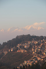 The city of Darjeeling, India