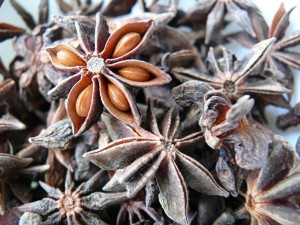 Star anise may be an ingredient in quality tea blends.