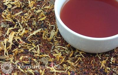 Organic Raspberry Rooibos Tisane, Organic Red Raspberry Leaf, Organic Hibiscus, Organic Calendula