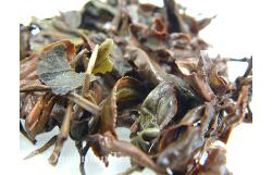 Oriental Beauty Oolong Wet Leaf Up-Close