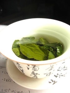 Tea Leaves in Gaiwan