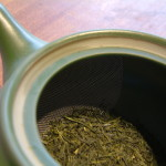 Green Tea in a Yokode Kyusu
