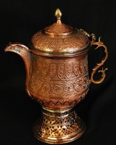 Afghan tea culture comes in part from the tradition of offering food and beverage to guests