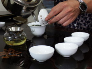 Tea Cupping