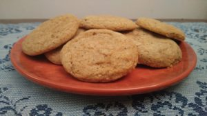 Maple Chai Cookies